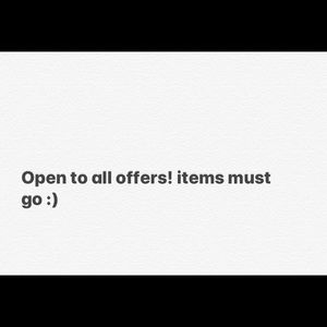 Accepting all offers :)